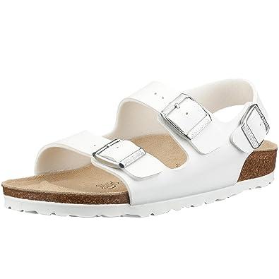 womans white birkenstock clogs