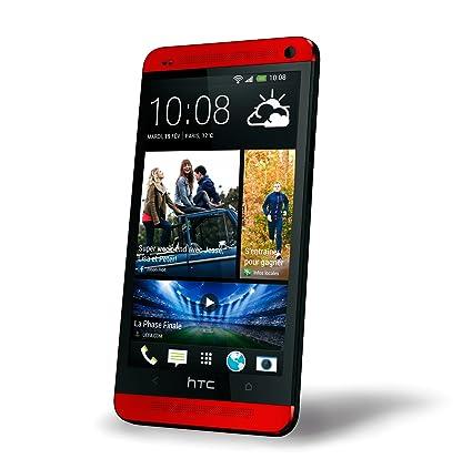 HTC One Smartphone débloqué 4G (Ecran: 4.7 pouces - 32 Go - Android 4.1 Jelly Bean) Rouge
