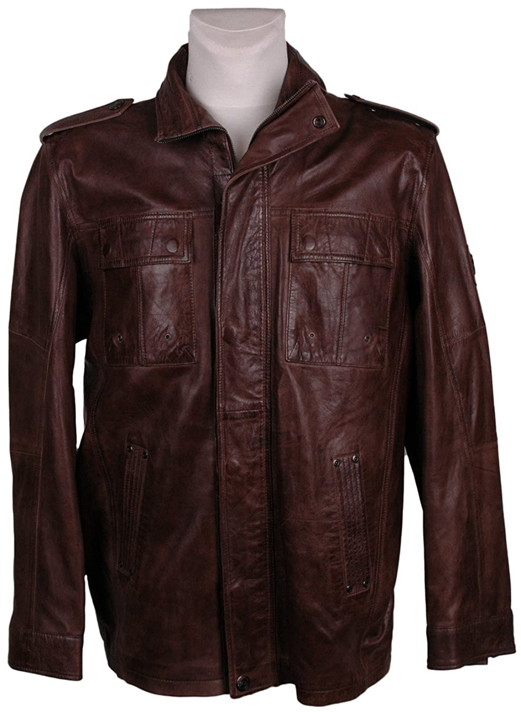 Northland Herren Leder-Jacke , Model: , Farbe: braun, Größe: 52/, — NEU —, UPE: 299,95 Euro günstig bestellen