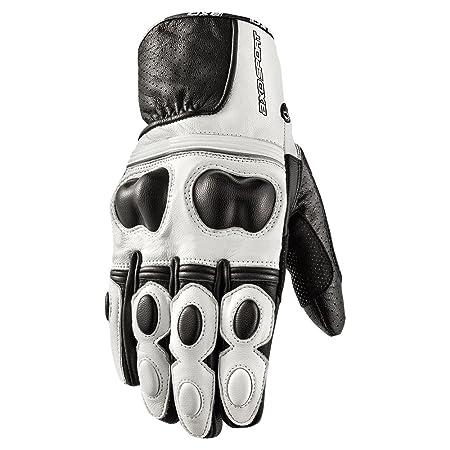 AXO mS4L0030 w00 snake paire de gants, taille s (blanc)