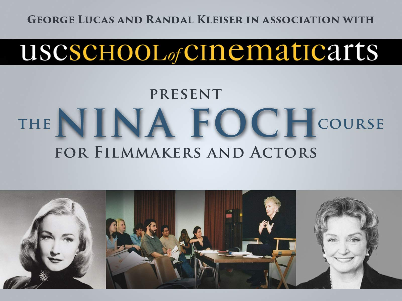 The Nina Foch Course for Filmmakers and Actors on Amazon Prime Instant Video UK