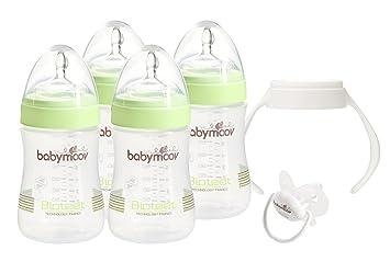Babymoov Biberon Bioteet Vert Amande 230 ml