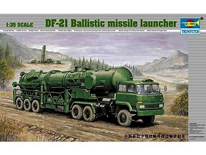 Trumpeter 00202Modélisme Jeu de Lance-missiles chinois DF 21