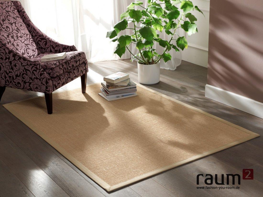 Sisal Teppich Astra Manaus beige / chablis 07 in 200 x 250 cm  Alle ProdukteÜberprüfung und weitere Informationen