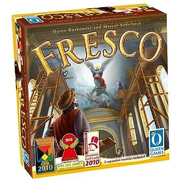Asmodee - QGFR01 - Jeu de stratégie - Fresco + Extensions 1, 2 et 3