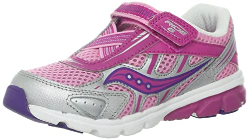 Lifestyle Saucony Baby Ride 6 Athletic Running Shoe For Kids Clearance Sale Multiple Color Options