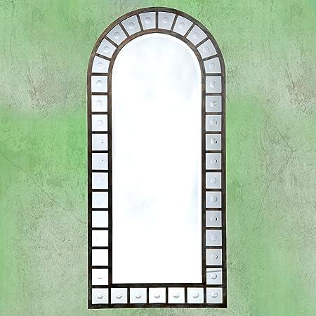 DUSX Architectural Framed Mirror, Metal, Dark Bronze, 3 x 79 x 170 cm