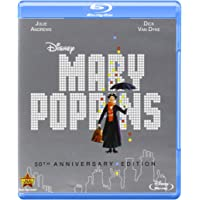 Mary Poppins: 50th Anniversary Edition on (Blu-ray + DVD + Digital Copy)