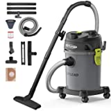 AUTLEAD Wet Dry Vacuum 5.5 HP 5.5 Gallon Pure Copper Motor Wet/Dry/Blow 3 in 1 Shop Vac, Stable Round Bucket Design with Pulley System and HEPA Filter (Tamaño: 5.5HP 5.5Gal)