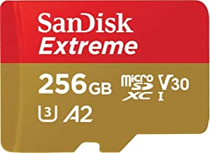 SanDisk Extreme 256GB microSD UHS-I Card with Adapter - 160MB/s with  SanDisk MobileMate USB 3.0 microSD Card Reader (Tamaño: 256GB)