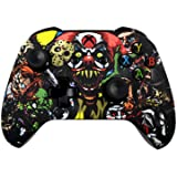Xbox One S Wireless Controller - Soft Touch Design - Added Grip for Long Gaming Sessions - Multiple Colors Available (Scary Party) (Color: Scary Party)