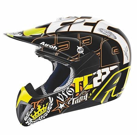 Airoh casque de moto pour cross mRTC14 mr. noir