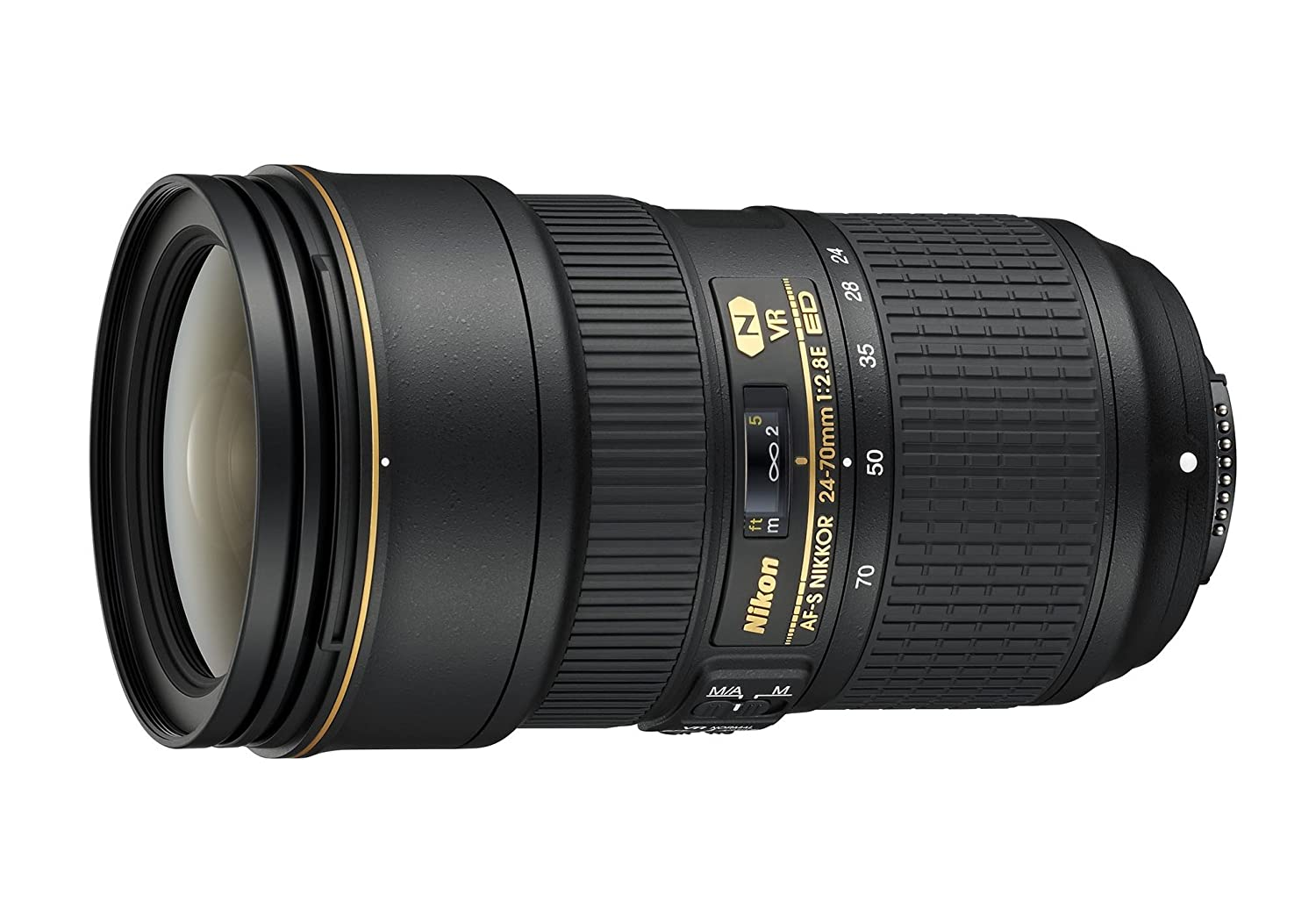 Nikon AF-S FX NIKKOR 24-70mm f/2.8E ED Vibration Reduction Zoom Lens with Auto Focus for Nikon DSLR Cameras