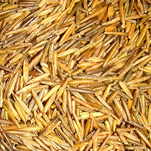 BINESHII-World Famous Ghost Wild Rice, The Finest And Rarest Wild Rice In The World. Hand Harvested, Wood Parched. 50-LBS Bulk, All Natural, Gluten Free, Harvesting Wild Rice For Nearly 50 Years. (Mn Wild Rice compare prices)
