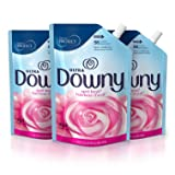 Downy Ultra April Fresh Liquid Fabric Conditioner Smart Pouch, Fabric Softener - 48 Oz. Pouches, 3 Pack