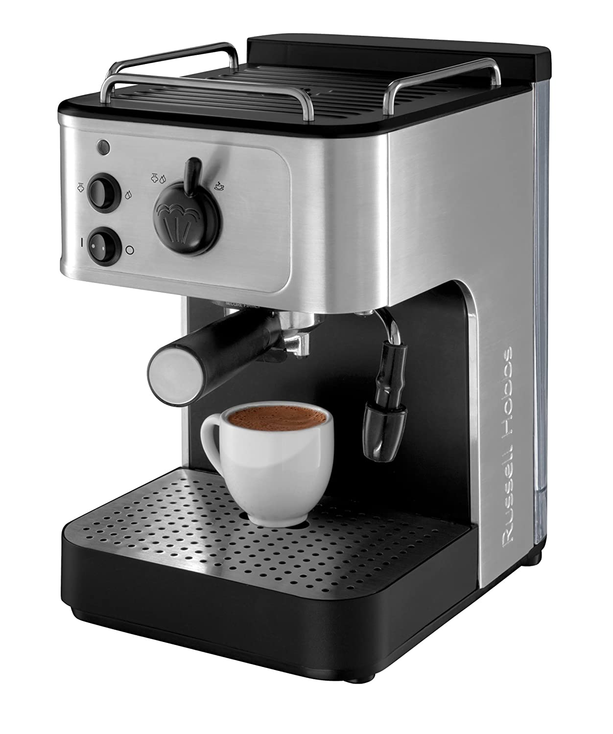 russell hobbs 18623 espresso coffee maker espresso cappuccino machines kitchen ebay. Black Bedroom Furniture Sets. Home Design Ideas