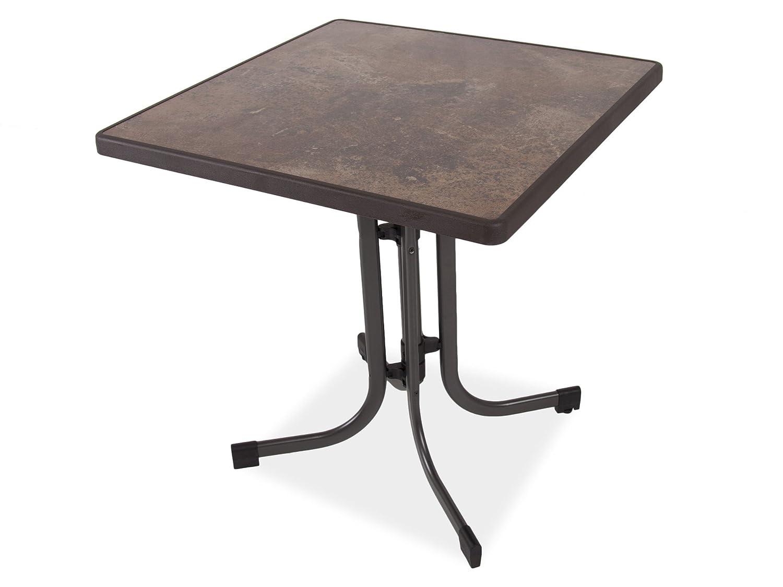 Dajar Ess/Dine Tisch und Relax 70 x 70 cm, Vesuve braun günstig bestellen
