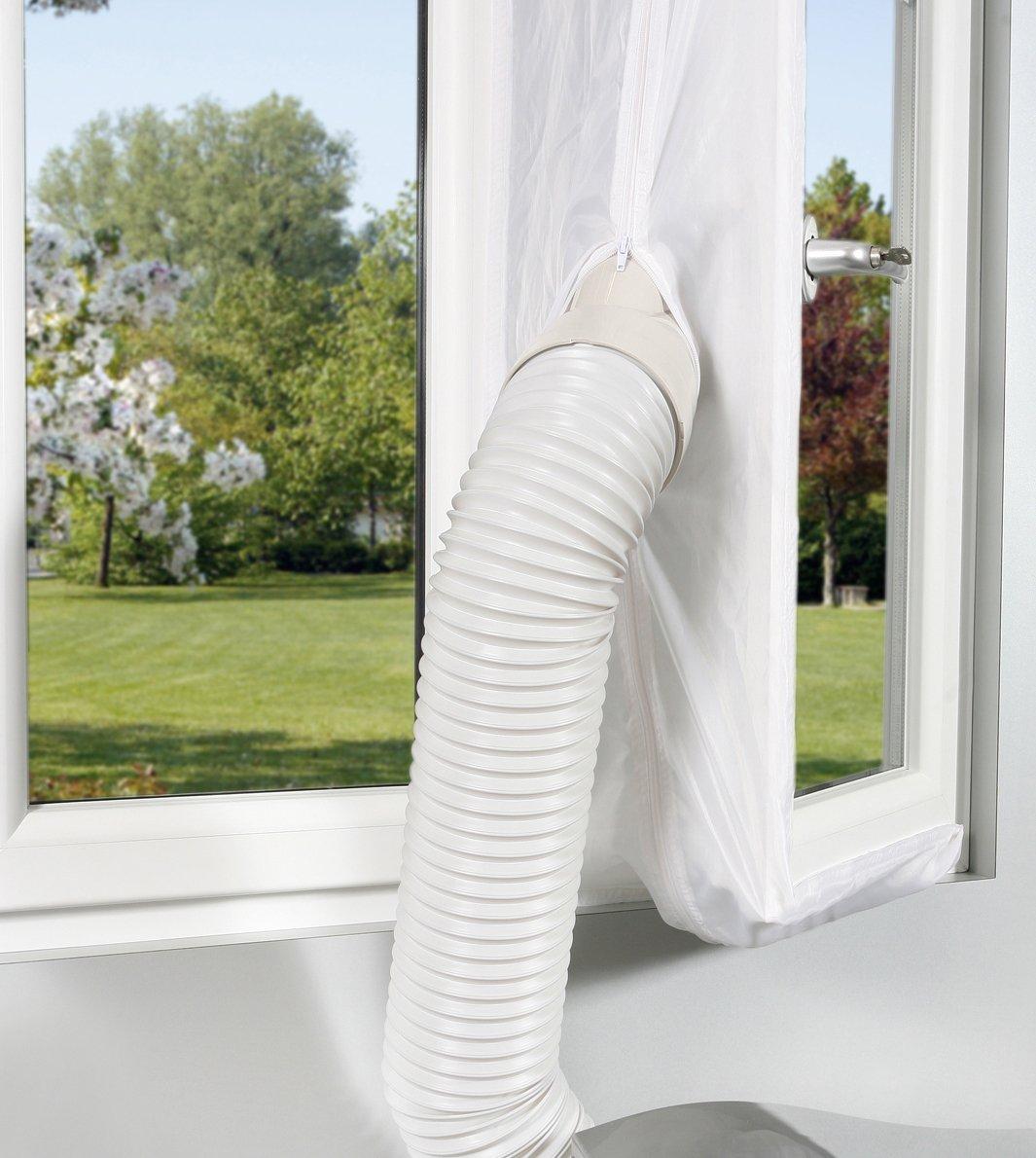 Protector de ventana para el aire acondicionado