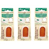 Clover Natural Fit Leather Thimble, Large (3 Pack) (Tamaño: 3 Pack)