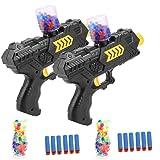 NeatoTek Foam Toy Gun Soft Gun Kids Shooting Gun 6 PCS Soft EVA Foam Darts Kids Foam Gun Toy (2 Pack)