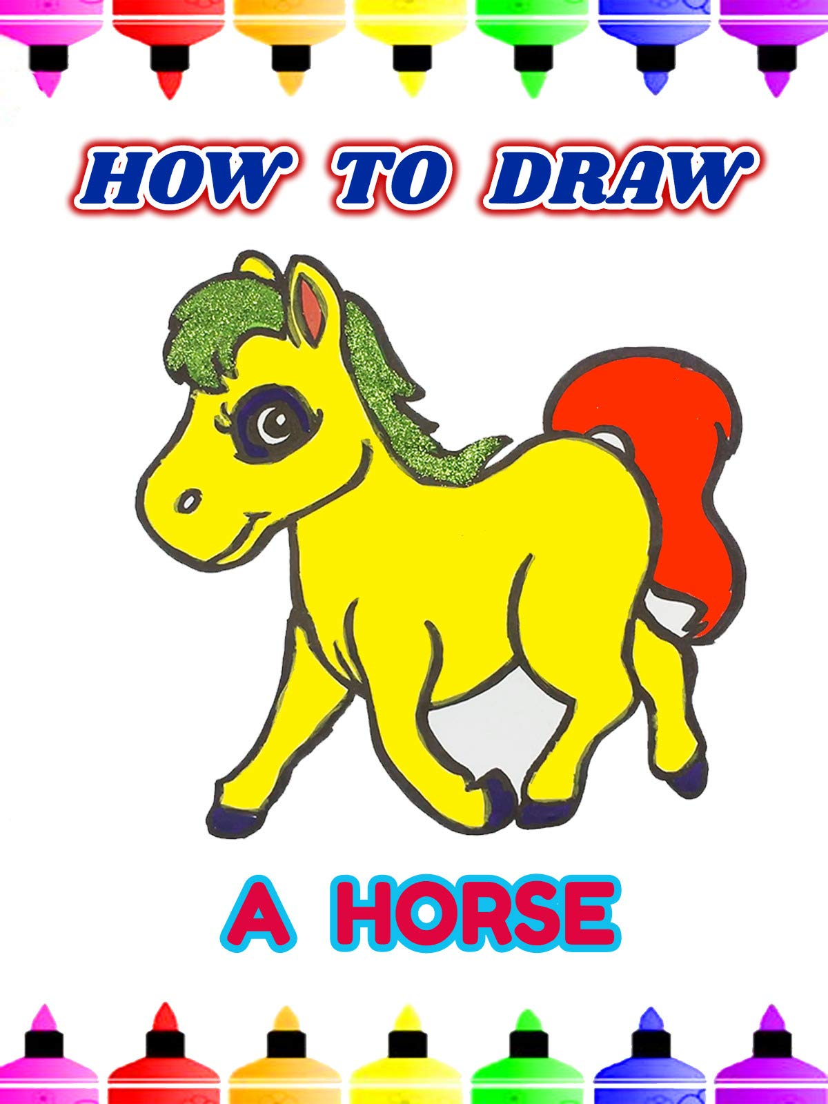 How To Draw A Horse on Amazon Prime Video UK