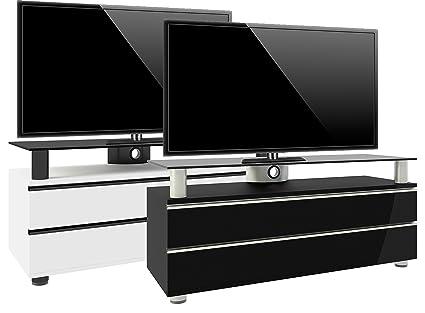 """VCM 14255 TV-Lowboard """"Dasano lack"""" Rack, Tisch, Holz, Schrank, schwarz"""
