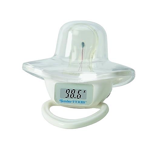 TenderTykes Waterproof Digital Pacifier Thermometer