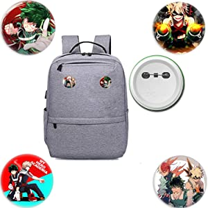 My Hero Academia Hypoallergenic Travel Accessory Luggage ID Tag Suitcase Carry-on Baggage