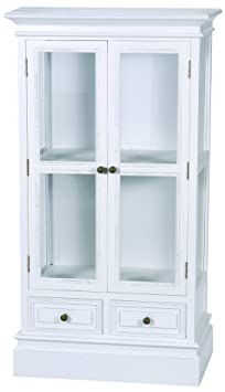 Cristal con{2} cajones cajetín diseño cómoda, New