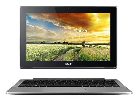 """Acer Switch PC Portable 2-en-1 Tactile 11"""" Full HD Gris (Intel Core M, 4 Go de RAM, SSD 128 Go, Mise à jour Windows 10 gratuite)"""