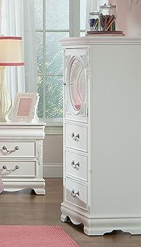Standard Furniture Jessica Lingerie Chest in Clean White