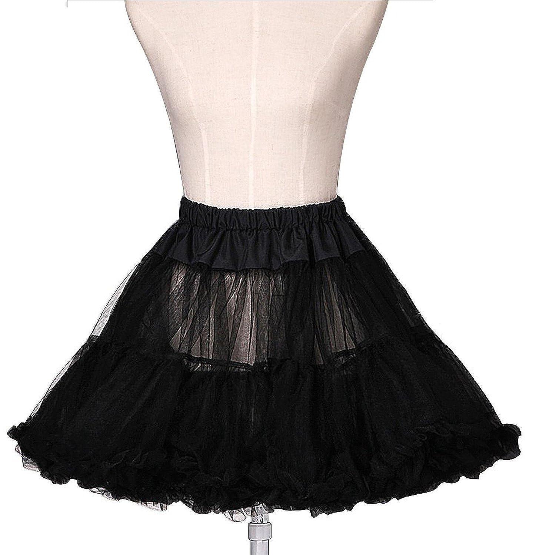 Bridal_Mall Damen Kurz Tutu Petticoat für Abendkleider Ball Promkleider Unterrock Unterkleid online bestellen