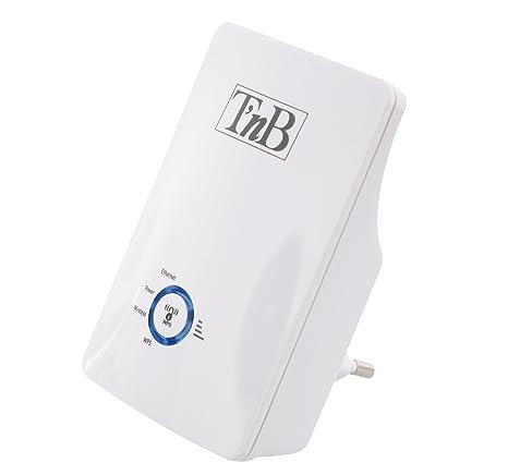 T'nB RPTWF300 Répéteur Wi-Fi Universel avec port ethernet 300 Mbps