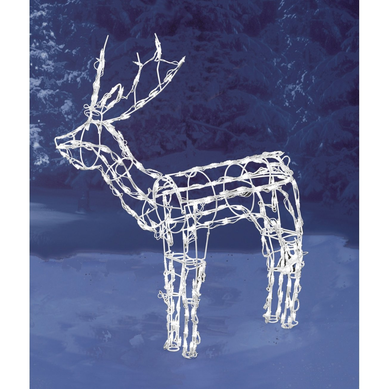 Reindeer Lighted Yard Displays | Christmas Wikii
