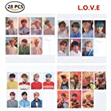 Bosunshine BTS [Love Yourself ? 'HER' ] L O V E 4 Versions Collection Cards (L.O.V.E)
