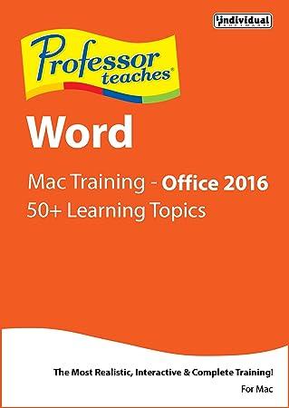Professor Teaches Word 2016 - Mac [Download]