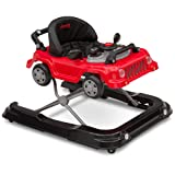 Jeep Classic Wrangler 3-in-1 Grow with Me Walker, Red (Color: Red)