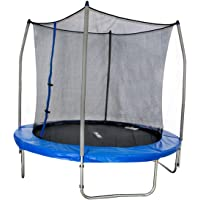 Merax 8-feet Round Trampoline with Safety Enclosure Combo