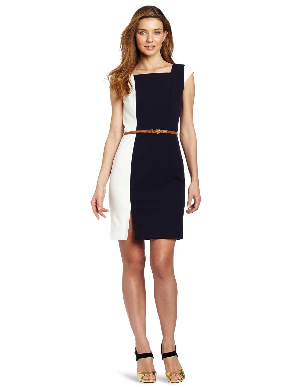 Calvin Klein Women's Colorblock Dress: