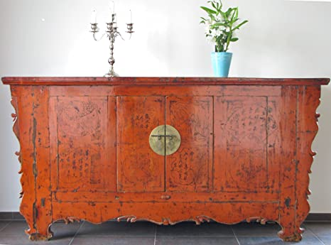 Fabricada en madera de pino antiguo