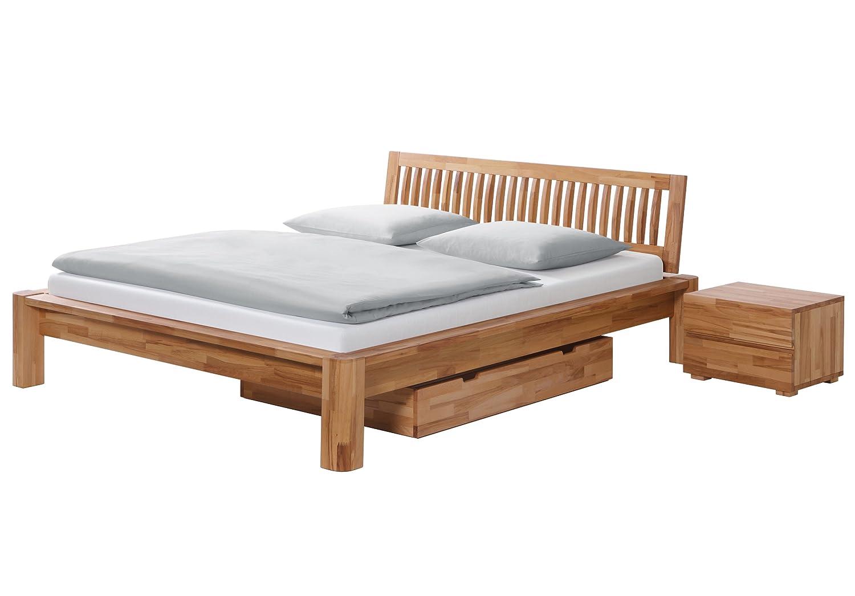 Stilbetten Bett Holzbetten Teresta Kernesche 180×200 cm online bestellen