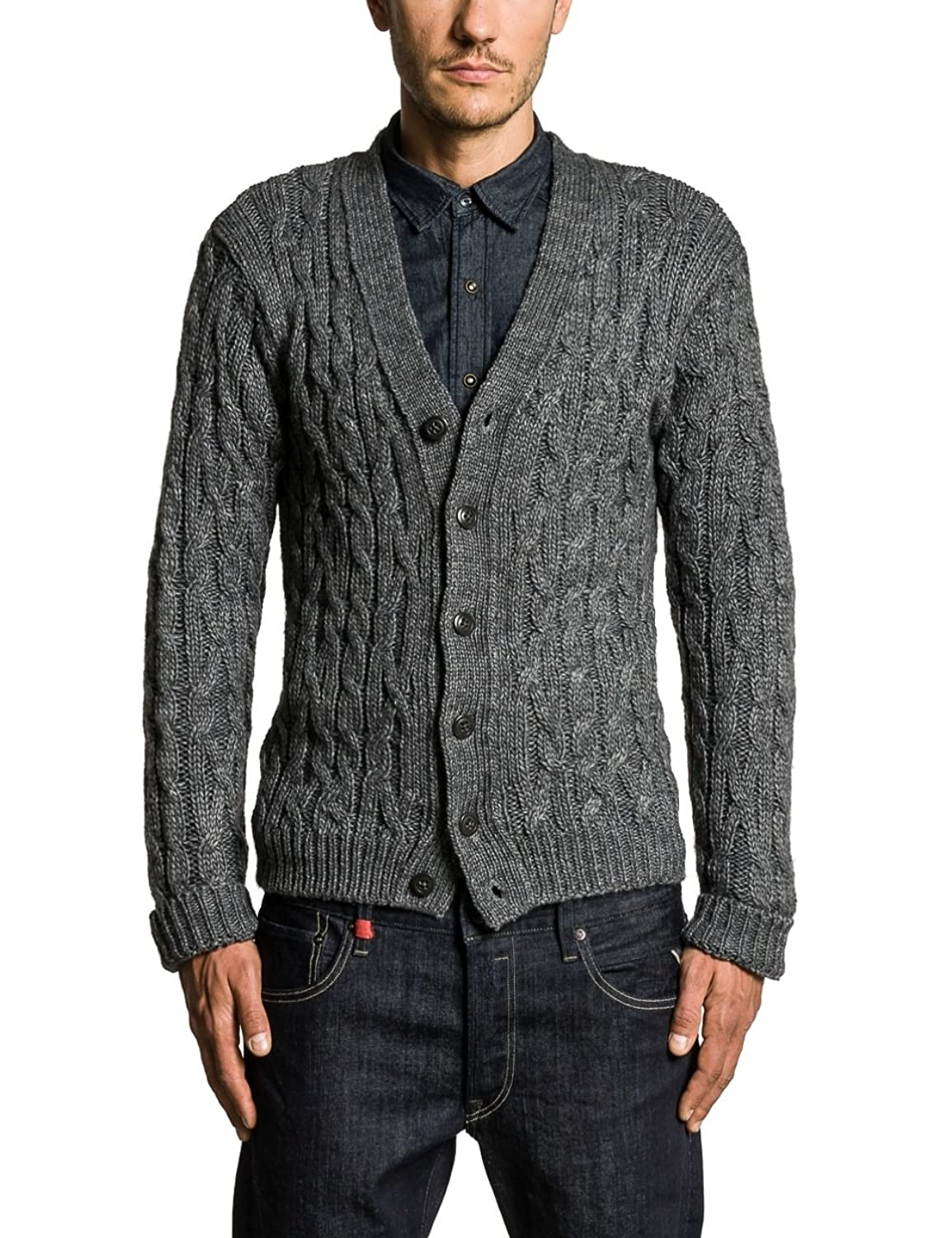 Replay Herren Strickjacke UK1036.000.G20930