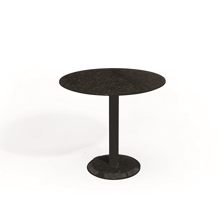 Studio 20 Edam Gartentisch rund ø 80 cm Outdoortisch Granittisch Granitplatte Tischplatte Pearl grey satiniert jetzt bestellen