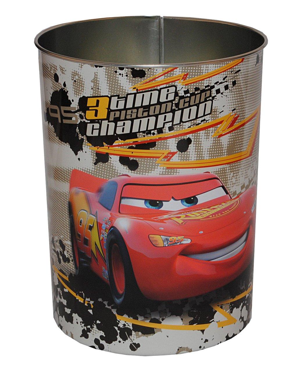 Papierkorb Disney Cars – Metall – Mülleimer Eimer Aufbewahrungsbox für Kinder Auto Lightning Queen Junge kaufen