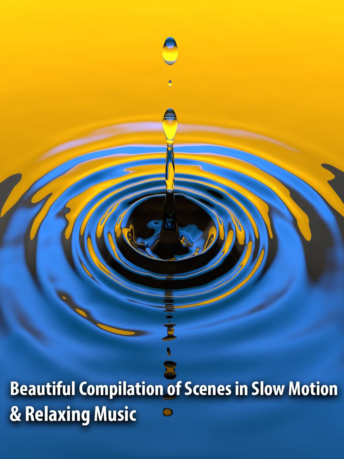Beautiful Compilation of Scenes in Slow Motion & Relaxing Music