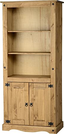 Corona de la gama del dormitorio - muebles de dormitorio de pino fretboardhfs - dormitorio completo rango (Corona 2 puerta Patán)