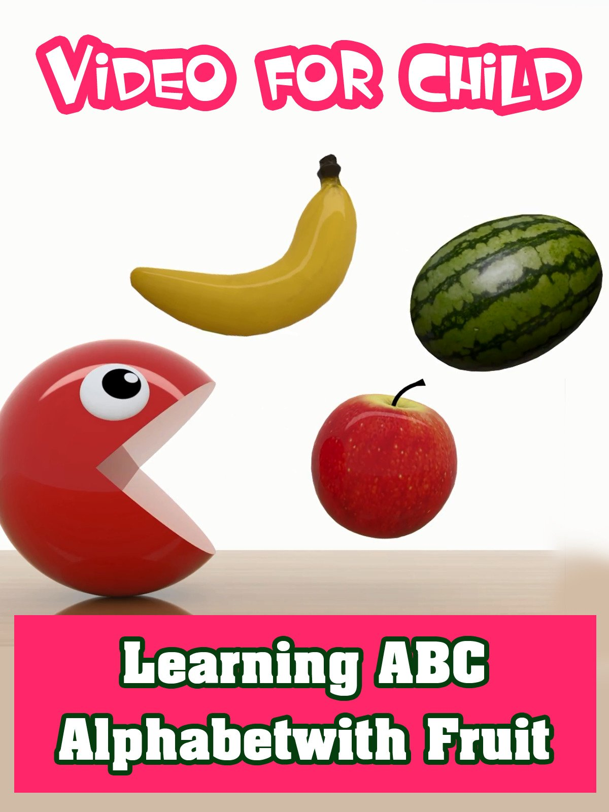 Learning ABC Alphabet with Fruit