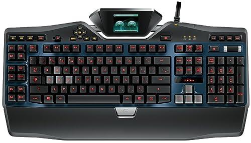 罗技Logitech G19s 多功能高端游戏键盘