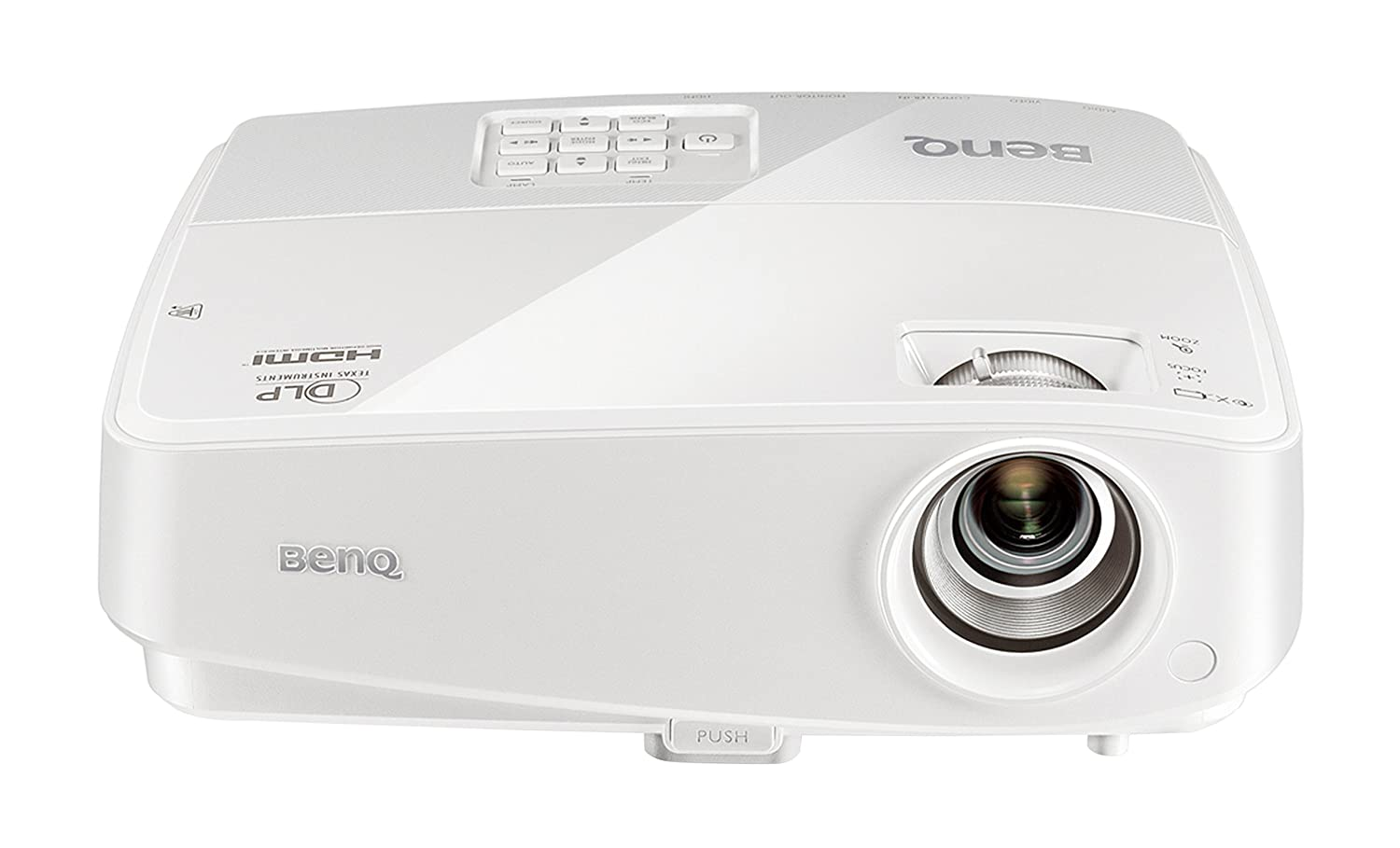 Benq tw526e hd ready 720p 3200 lumens 3d home for Hd projector amazon