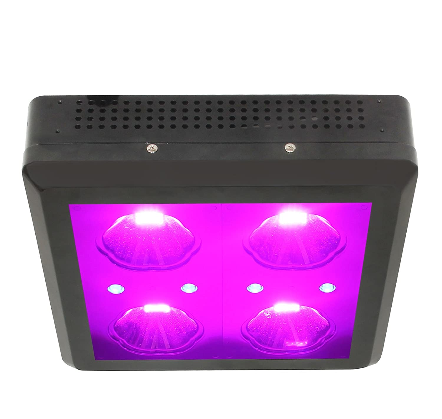 Zeus Lighting 250 Watt LED Grow Light, with Optimal 10-Band and Infrared (IR) and Ultraviolet (UV)